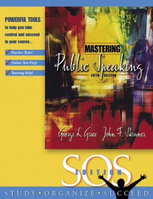 Mastering Public Speaking 9780205455898