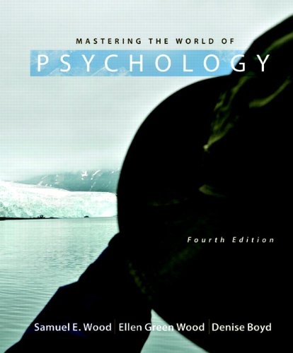 Mastering the World of Psychology 9780205003310