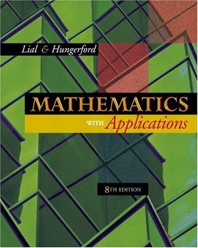 Mathematics with Applications 9780201755299