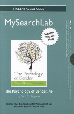 The Psychology of Gender Student Access Code 9780205871544