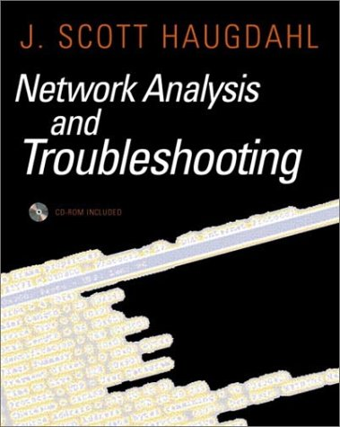 Network Analysis and Troubleshooting [With CDROM] 9780201433197