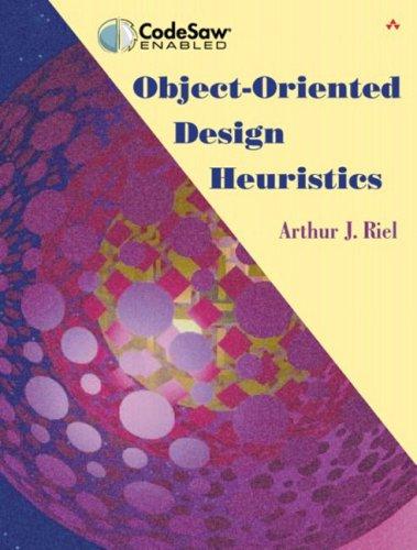 Object-Oriented Design Heuristics 9780201633856