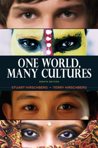 One World, Many Cultures 9780205801107