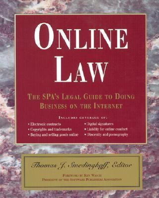 Online Law: The Spa's Legal Guide to Doing Business on the Internet 9780201489804