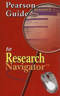 Pearson Guide to Research Navigator 9780205633401