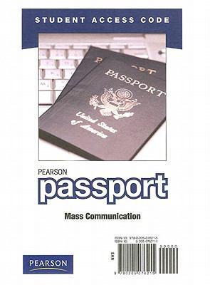 Pearson Passport Mass Communication, Student Access Code 9780205076215