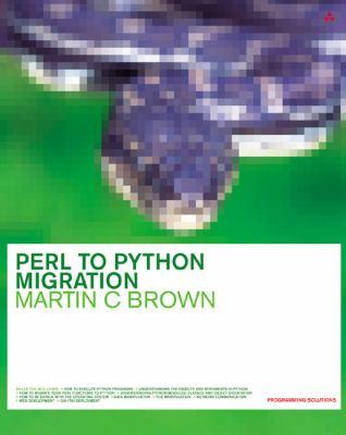 Perl to Python Migration 9780201734881