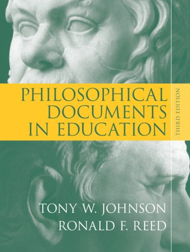 Philosophical Documents in Education 9780205553846