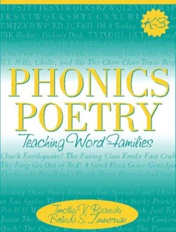 Phonics Poetry: Teaching Word Families 9780205309092