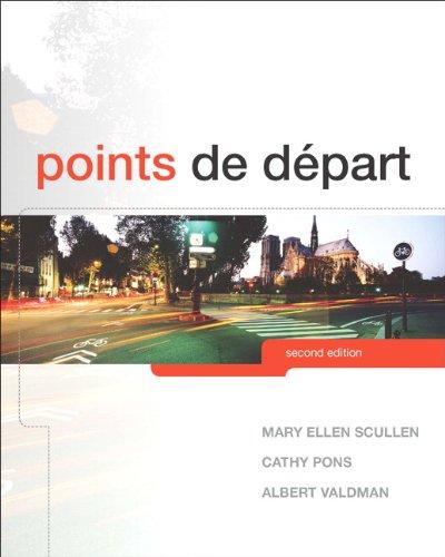 Points de Depart 9780205788408