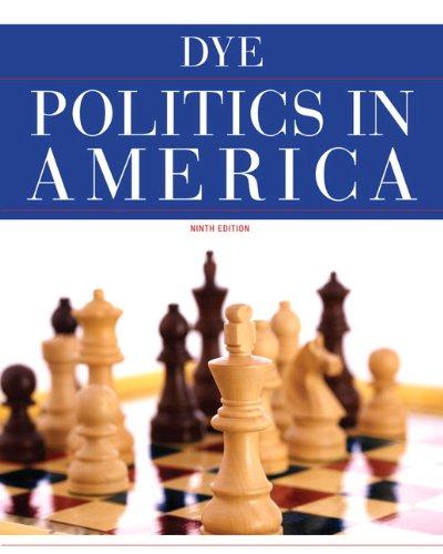 Politics in America 9780205826094