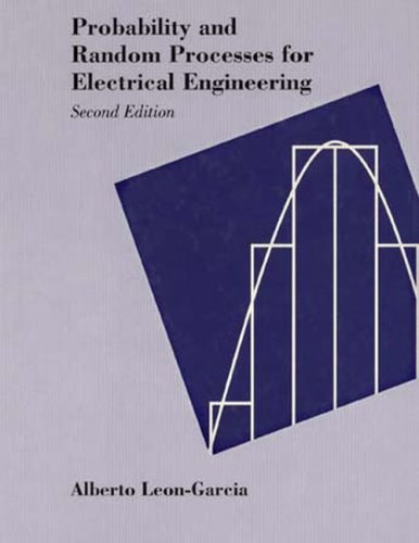 Probability and Random Processes for Electrical Engineering 9780201500370