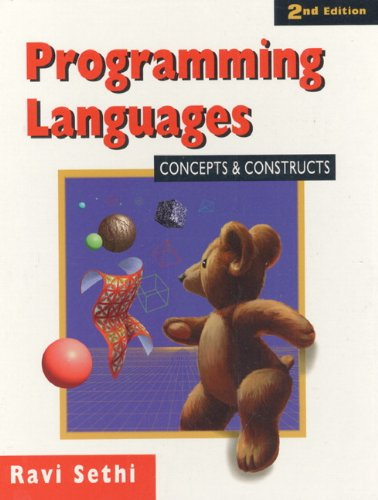 Programming Languages: Concepts and Constructs 9780201590654