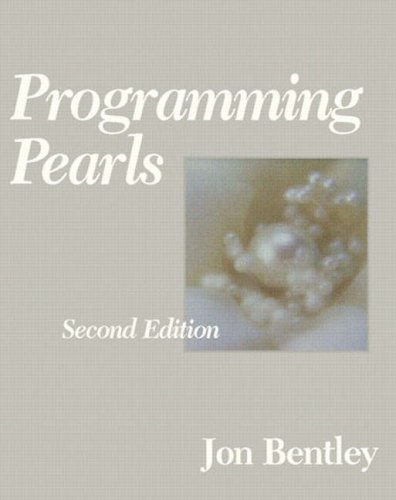 Programming Pearls 9780201657883