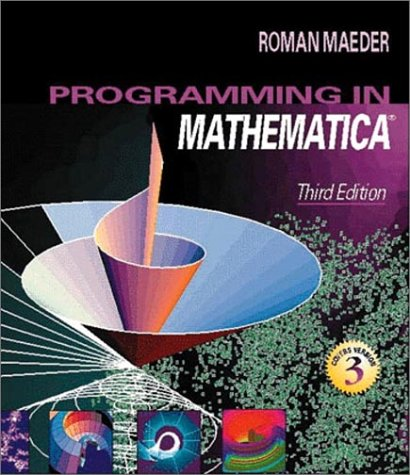 Programming in Mathematica 9780201854497