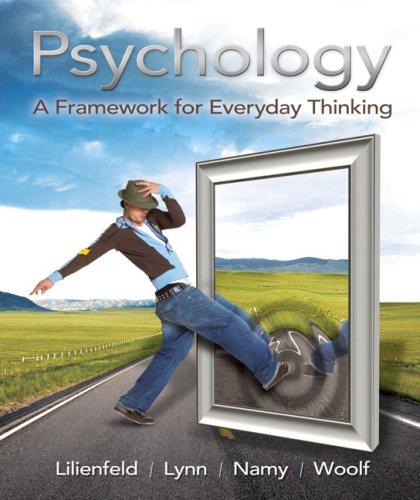 Psychology: A Framework for Everyday Thinking 9780205650484