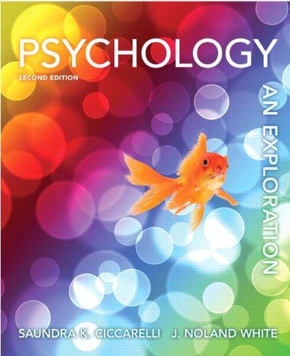 Psychology: An Exploration 9780205256419