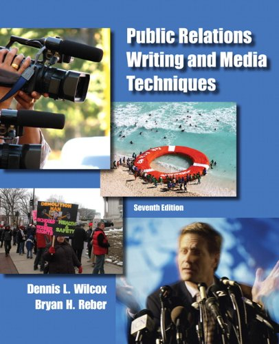 Public Relations Writing and Media Techniques 9780205211678