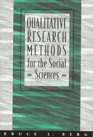 Qualitative Research Methods for the Social Sciences 9780205264759