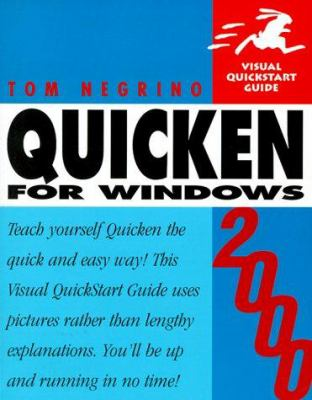Quicken 2000 for Windows Visual QuickStart Guide 9780201699654