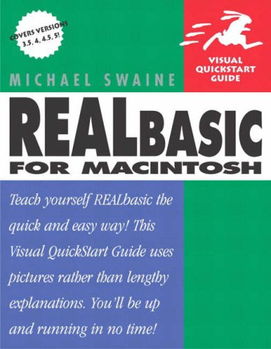 REALbasic for Macintosh: Visual QuickStart Guide 9780201781229