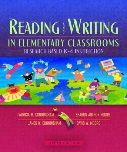 Reading&writing Elem Classrm: Res Based K-4 9780205386406