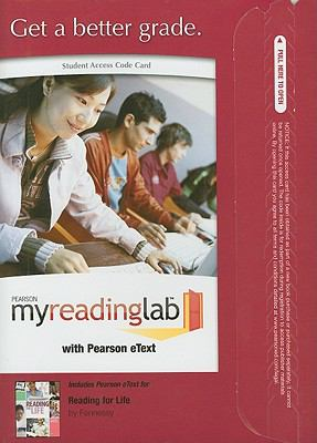 Reading for Life, Student Access Code Card 9780205755028