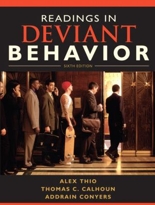Readings in Deviant Behavior 9780205695577