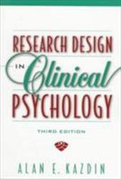 Research Design in Clinical Psychology 623150