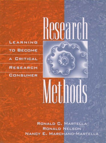Research Methods: Learning to Become a Critical Research Consumer 9780205271252