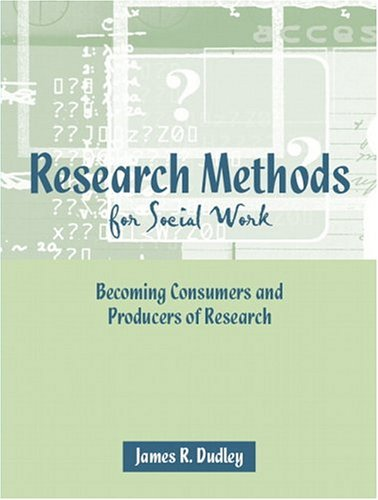 Research Methods for Social Work 9780205365296