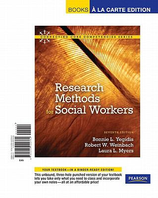Research Methods for Social Workers 9780205022762