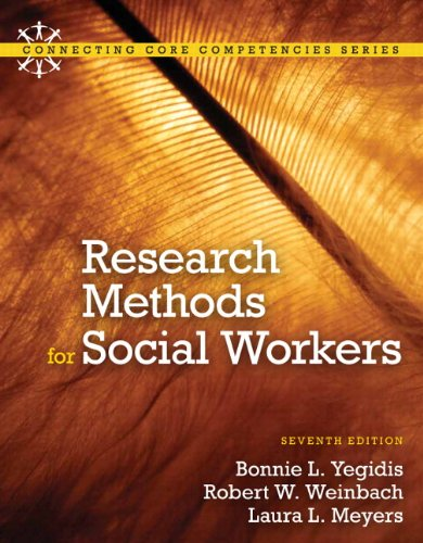 Research Methods for Social Workers 9780205820115