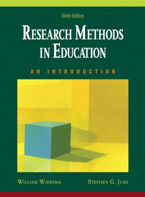 Research Methods in Education: An Introduction [With CDROM] 9780205581924