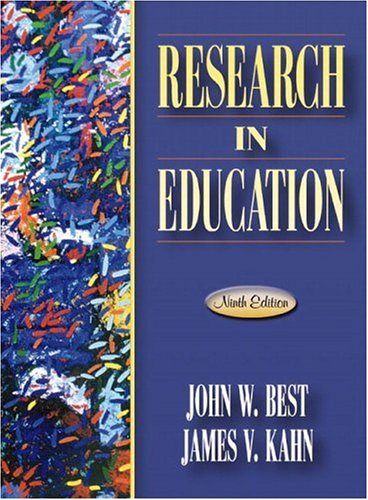 Research in Education 9780205349975