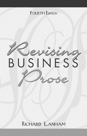 Revising Business Prose 9780205309443
