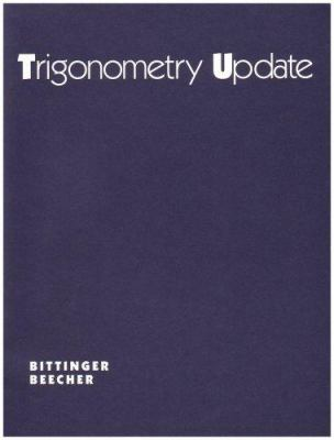 Right Triangle Trigonometry Supplement 9780201600100