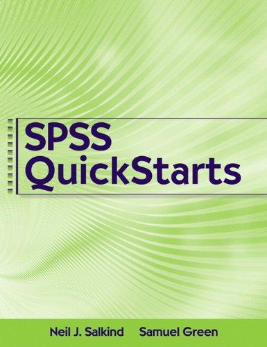 SPSS QuickStarts 9780205735778