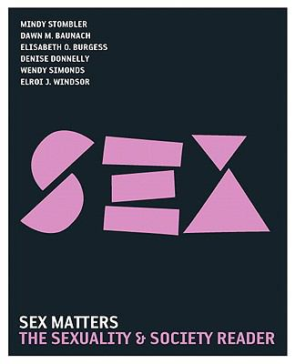 Sex Matters: The Sexuality and Society Reader 9780205610617