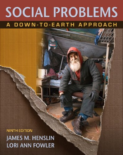 Social Problems: A Down-To-Earth Approach 9780205649754