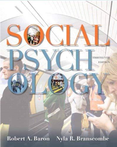 Social Psychology 9780205205585