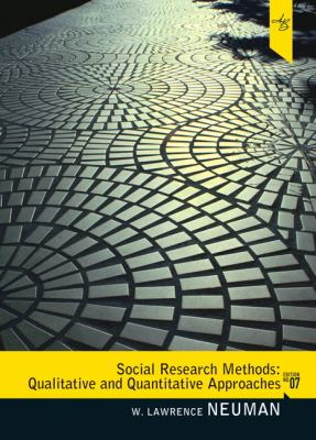Social Research Methods: Qualitative and Quantitative Approaches 9780205615964
