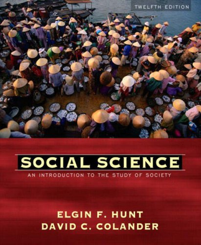 Social Science: An Introduction to the Study of Society 9780205408474