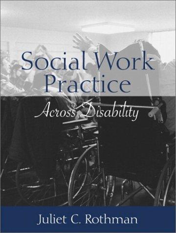 Social Work Practice Across Disability 9780205374625