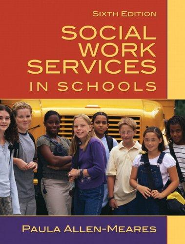 Social Work Services in Schools 9780205627127