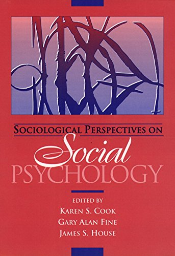 Sociological Perspectives on Social Psychology 9780205137169