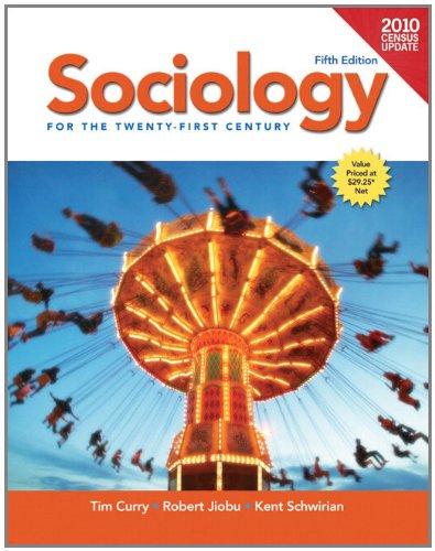 Sociology for the Twenty-First Century 9780205179664