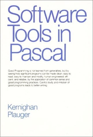 Software Tools in Pascal 9780201103427
