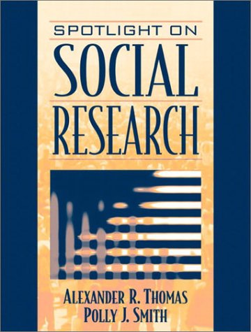 Spotlight on Social Research 9780205368068