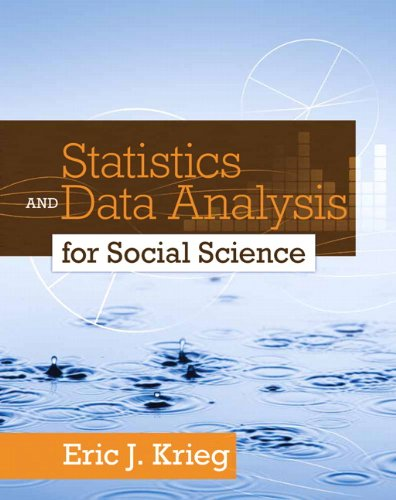Statistics and Data Analysis for Social Science 9780205728275